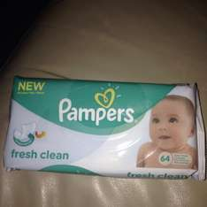 Pampers fresh clean 61p in store @ Tesco