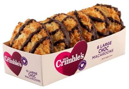 Mrs Crimbles Large Chocolate Macaroons 80p @ Sainsbury's