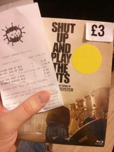 LCD Sound System - Shut up and play the hits - Triple Blu-ray £3 @ fopp