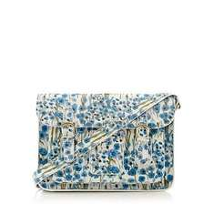 Nica Blue Floral Medium Satchel at Debenhams, Was £49.99 now only £14.70! Free Delivery to Store (Extra 10% off for Card Holders - £13.23)
