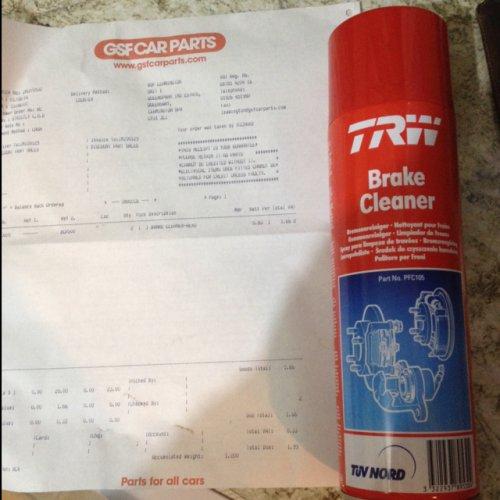 500ml Aerosol Brake Cleaner for £1.00 @ GSF instore