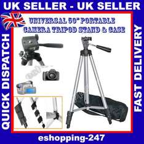 "50"" Universal Digital Camera Camcorder Adjustable tripod stand £4.90 @ Ebay/eshopping-247"
