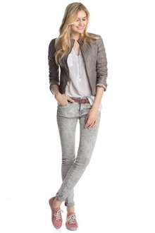 Esprit (edc) Leather Jacket £79.99 down from £159 @ Esprit