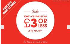 Matalan sale further reductions 70% off