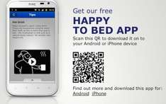 A Happy To Bed App from IKEA helps you sleeping time!!