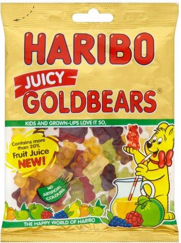 Haribo Juicy Goldbears (200g) was 79p now ONLY 75p @ Aldi