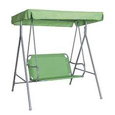 b n q green swing garden bench ring store for stock from £59 to £35