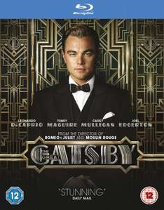 The Great Gatsby (Blu Ray) - £6.31 @ Amazon (Prime / £10 Spend)