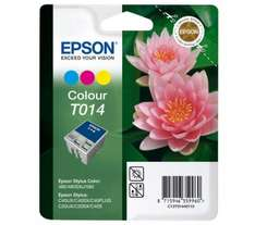 EPSON Pink Flower T014 Tri-colour Ink Cartridge £9.97  was £22.99 @ Currys