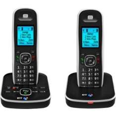BT 5510 Cordless Telephone with Answer Machine - Twin. £54.99 was £109 @ Argos