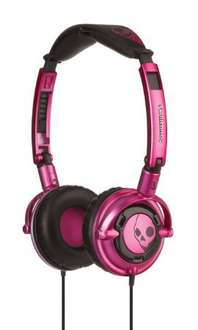 Skullcandy Lowrider Supreme Sound Headphones with Mic-Pink/Black £7.49 in store @ Sainsbury's