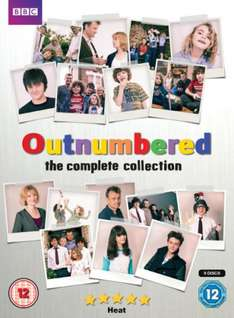 Outnumbered Series 1-5 DVD Box Set, New £17.99 Delivered @ Base