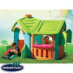 Marian-Plast Play Villa with Extension £69.99 @ Home Bargains (Click and Collect or £7.99 Delivery)