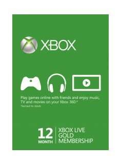 Xbox Gold Live £22.99 @ SimplyCdKeys
