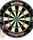 Winmau Diamond Bristle Dartboard and Brass Darts £13.32 at Argos