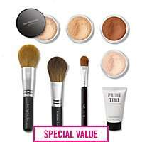 Bare minerals 8 pc get started kit £29.50 with codes today only rrp £108