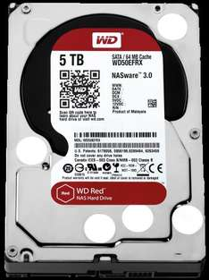 Western Digital RED 5TB NAS Hard Drive WD50EFRX £156.95 delivered @ AWD-IT
