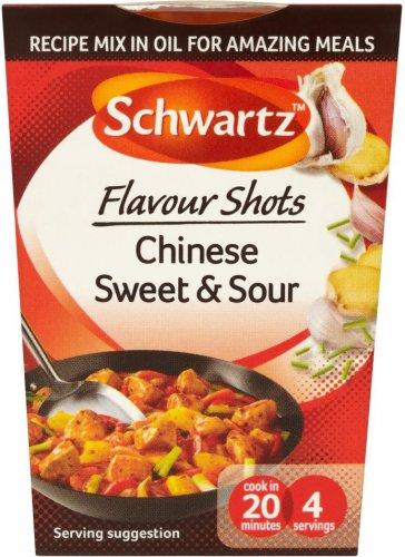 Schwartz Flavour Shots (All Varieties) (52g) was £1.40 now 70p @ Tesco