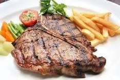T-Bone Steaks at £5 each or THREE T-BONE STEAKS FOR ONLY £10 @ Town and country meats