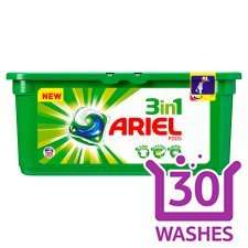 Ariel 3 In 1 Laundry Pods 30 Washes tesco offer £4.50 instead of £10.00 @ Tesco