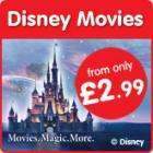 Disney DVDs From £2.99 @ Play.com