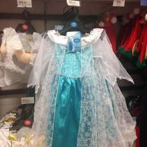 Frozen dress up £5.99 @ Home Bargains