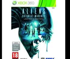 Aliens - Colonial Marines - Limited Edition (Xbox 360) at Tesco for £2.25 or £1.13 in Clubcard points with Boost