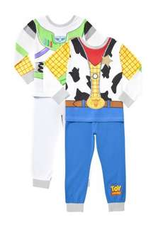 F&F clothing Disney  Toy Story Buzz and Woody Pyjamas £7.50 click and collect