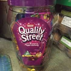 Quality Street Jar Reduced £2.99 from home bargains