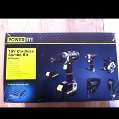 18v cordless power tool set £65 Asda in store.
