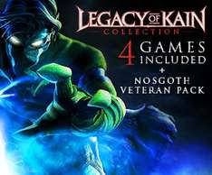 Legacy of Kain Collection (4 games + Veteran Pack) PC version for £3.75 from Square (Steam)