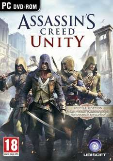 Assassin's Creed: Unity physical PC copy @ Amazon £19 (Special Edition)