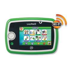 LeapFrog LeapPad 3 Learning Tablet (Pink and Green) at ASDA £48.75 with code