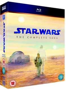 Star Wars: The Complete Saga (Blu-ray) £34.99 Delivered @ Xtra Vision (Using Code)
