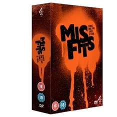 Misfits: Series 1-4 (DVD) For £7.64 at Wow Hd