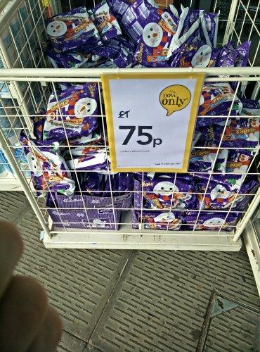 Cadbury Xmas selection box - 75p @ Wilko