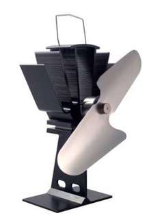 First4Spares Eco Friendly Wood Burning Stove Heat Powered Warm Air Nickel Fan - £44.99 @ Amazon