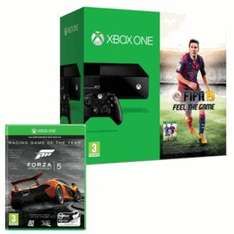 Xbox one with Fifa 15, grand theft auto 5 and forza 5 £349.99 game instore and online