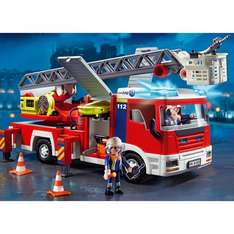 Playmobil Fire Engine Ladder Unit and others too at John Lewis (and Amazon) £25.50