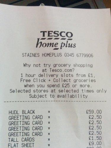 Tesco Homeplus - 1st Gen HUDL refurb £59