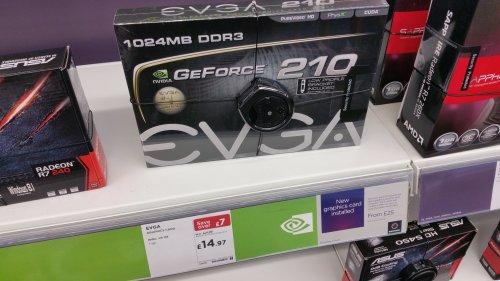 EVGA GeForce 210 Graphics Card for £14.97