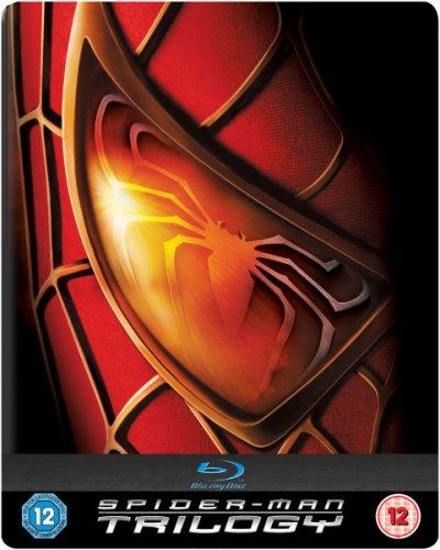 Spider Man Trilogy Bluray Steelbook Edition £8.99 at Zavvi