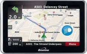 Binatone DVR505 5 Inch UK and Roi Video Recording Sat Nav £54.99 ARGOS outlet ebay