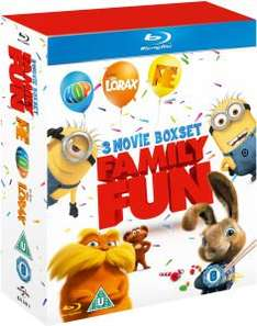 Hop / Despicable Me / Dr. Seuss The Lorax Blu-ray £9.99 delivered @ Zavvi