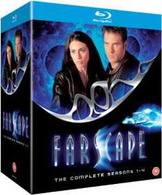 Farscape Complete Seasons 1-4 Blu Ray £25.19 Using First Order Code WELCOME @ Zavvi