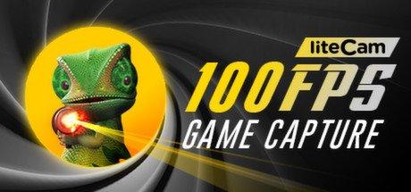 liteCam Game: 100 FPS Game Capture software 90% off on STEAM