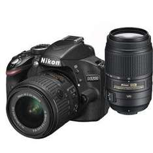 Nikon D3200 including 18-55 VR11 and 55-300 VR lenses, free accessory kit and £50 cashback £419.99 @ Jessops