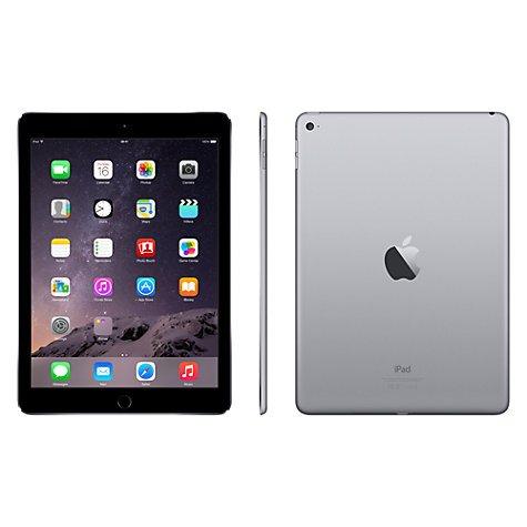 iPad Air 2 16gb and 64gb discounted including 2 year guarantee Price for 16gb £369 @ John Lewis