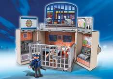 Playmobil - City action 5421 - My secret police station play box £10.79 delivery @ Amazon