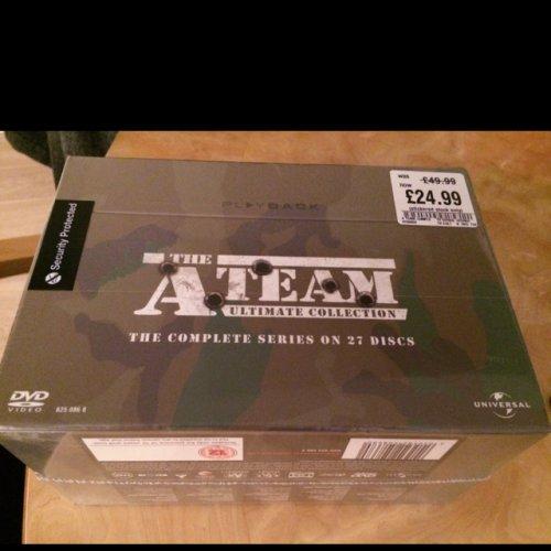 A-Team Boxset £24.99 @ HMV instore